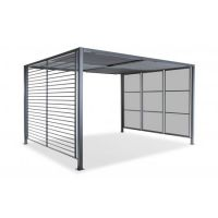 Panalsol Deluxe 3 x 3.5m Aluminium (with LED Solar Lights) - image 3